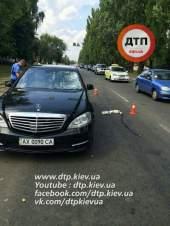 В столице авто сбило пешехода-нарушителя