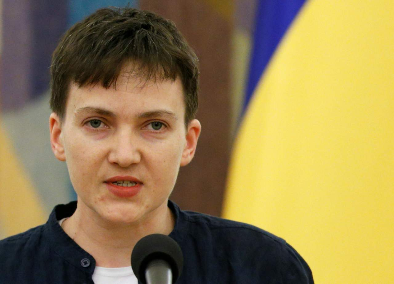 Савченко объявила голодовку в знак протеста против бездействия в освобождении пленных