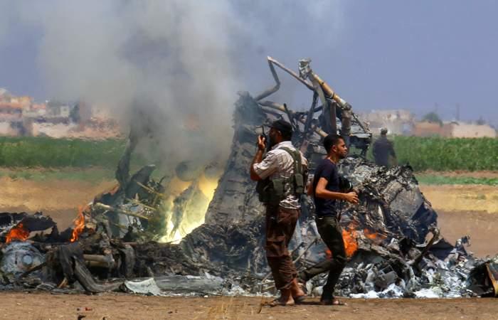 Подробности крушения российского самолёта в Сирии
