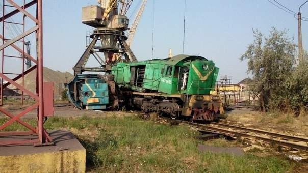 В Одессе столкнулись два грузовых поезда. Есть пострадавшие