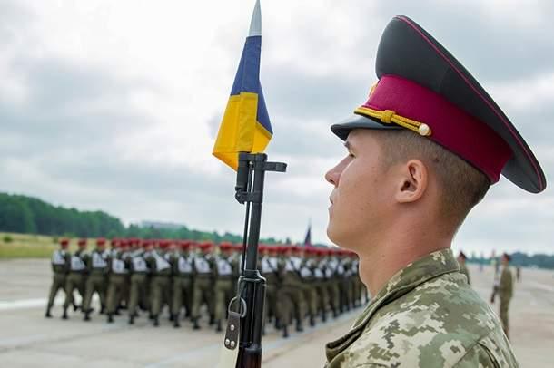 Репетиция военного парада ко Дню независимости Украины