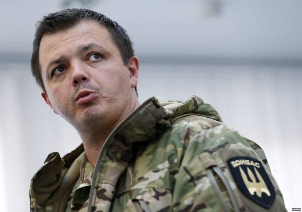 Семенченко об аресте бойцов