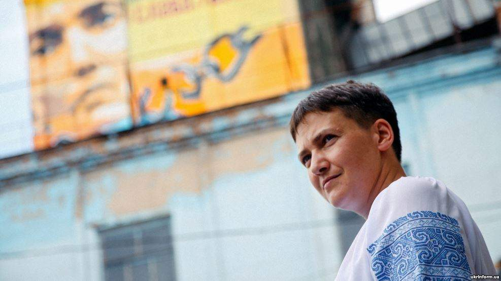 Савченко рассказала, как проходит первый день ее голодовки