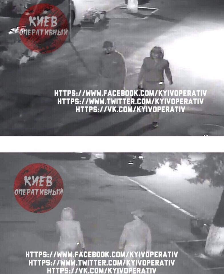 Обнародованы фото убийцы Павла Шеремета