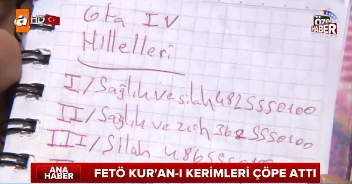 Турецкие журналисты приняли чит-коды из игры GTA IV за шифр для военного переворота