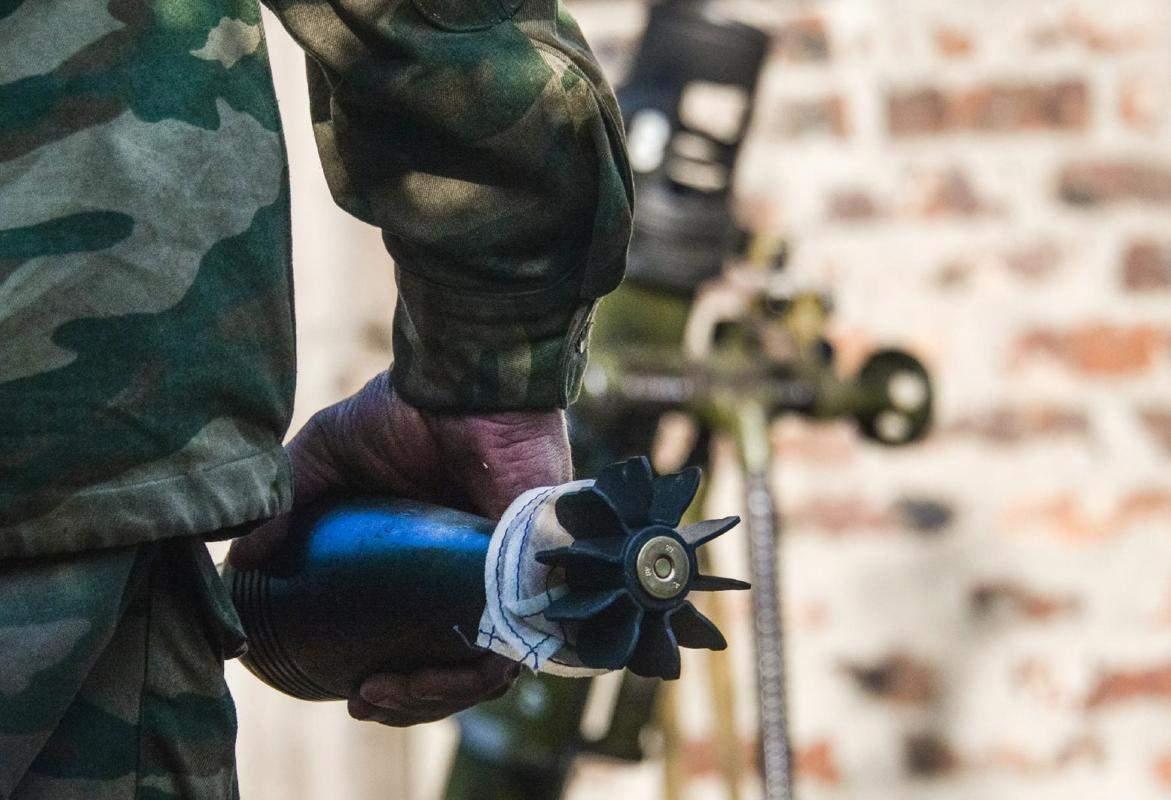 В зоне АТО уменьшилось количество обстрелов относительно с прошлым днем