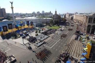 В честь дня Независимости Украины в параде примут участие 200 единиц военной техники