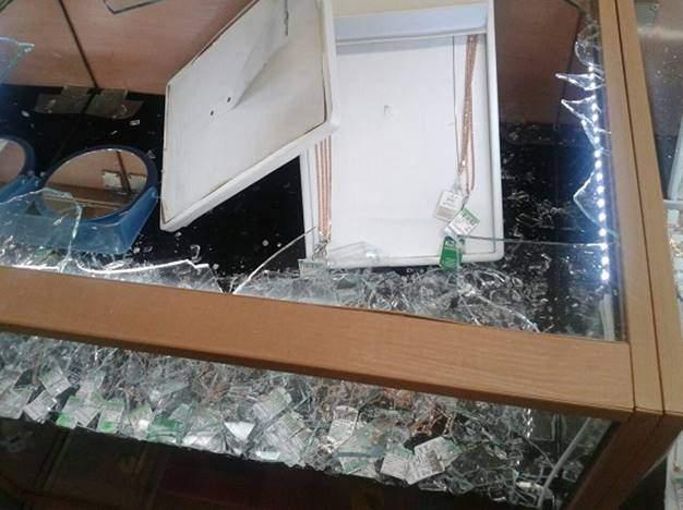 В столице неизвестные напали на ювелирный магазин