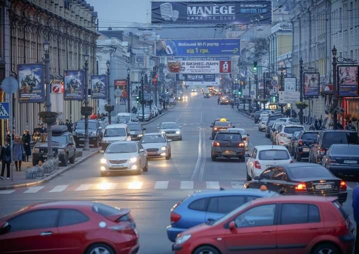 Улицу Сагайдачного хотят сделать пешеходной в выходные дни