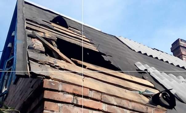 В Зайцево и Марьинке в результате обстрелов повреждены жилые дома