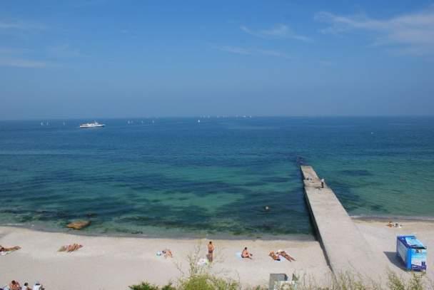 В Одессе морская вода отвечает всем нормам