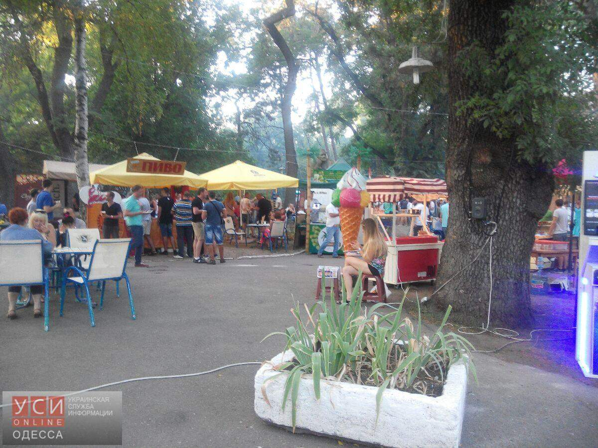 Киностудия Одессы превратилась в парк пивных развлечений