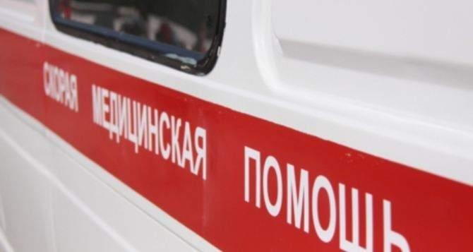 В результате взрыва, Плотницкого госпитализировали в больницу