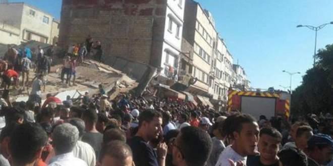 Обвал дома в Марокко. 16 человек пострадали