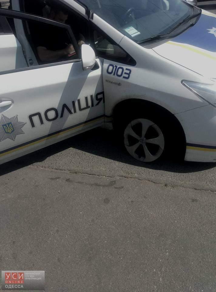 ДТП с участием полиции в Одессе