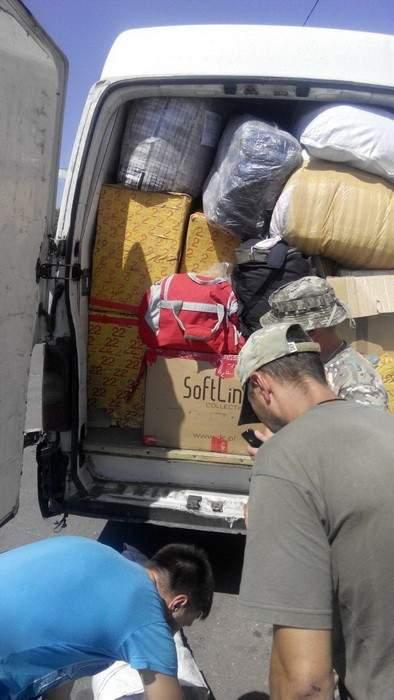 В зону АТО мужчина пытался провезти комплектующие для квадрокоптера