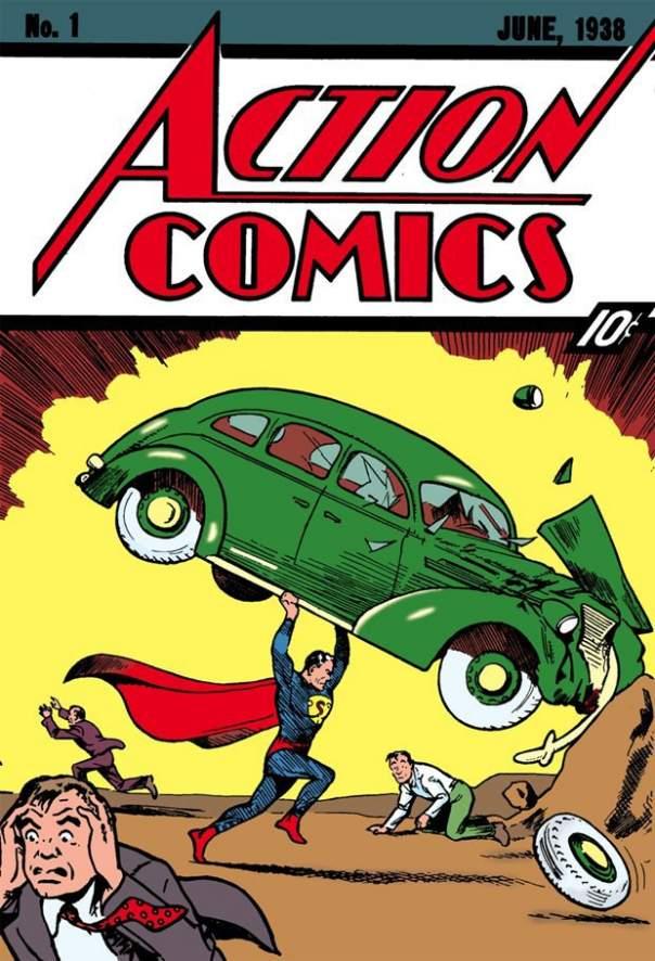 Комикс о Супермене ушёл с молотка за внушительную сумму