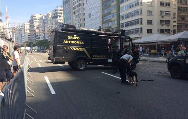 На Олимпиаде в Бразилии прозвучал взрыв