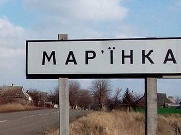 При обстрелах в Марьинке женщина получила ранение