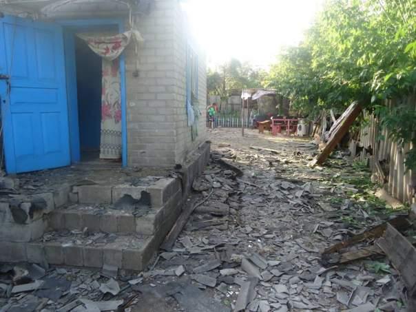 В Торецке обстрелами повреждены частные дома