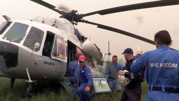 Подробности крушения вертолета Ми-2 на Кубани