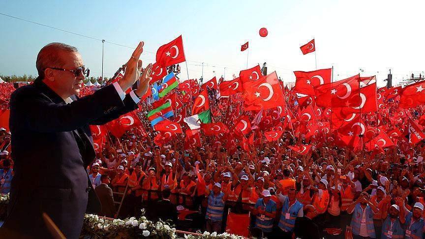 Эрдоган поддерживает требование ввести смертную казнь и готов подписать такой закон