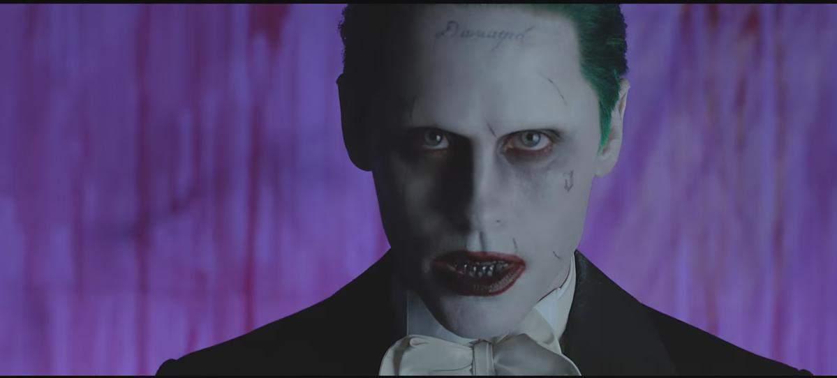 Джаред Лето снялся в клипе в образе Джокера