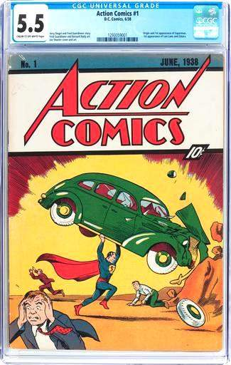 Экземпляр комикса про Супермена был куплен коллекционером почти за   миллион