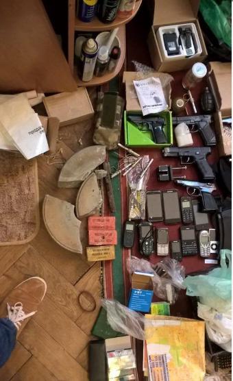 На Львовщине был ранен сотрудник СБУ, при задержании террористов, которые хотели взорвать железную дорогу