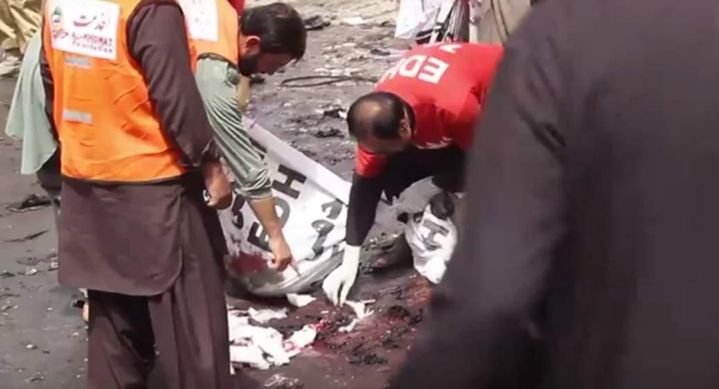 Жертвами взрыва в пакистанской больнице стали 90 человек