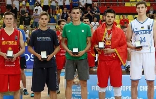 Украинец Дмитрий Скапинцев среди лучших баскетболистов Евробаскета-2016