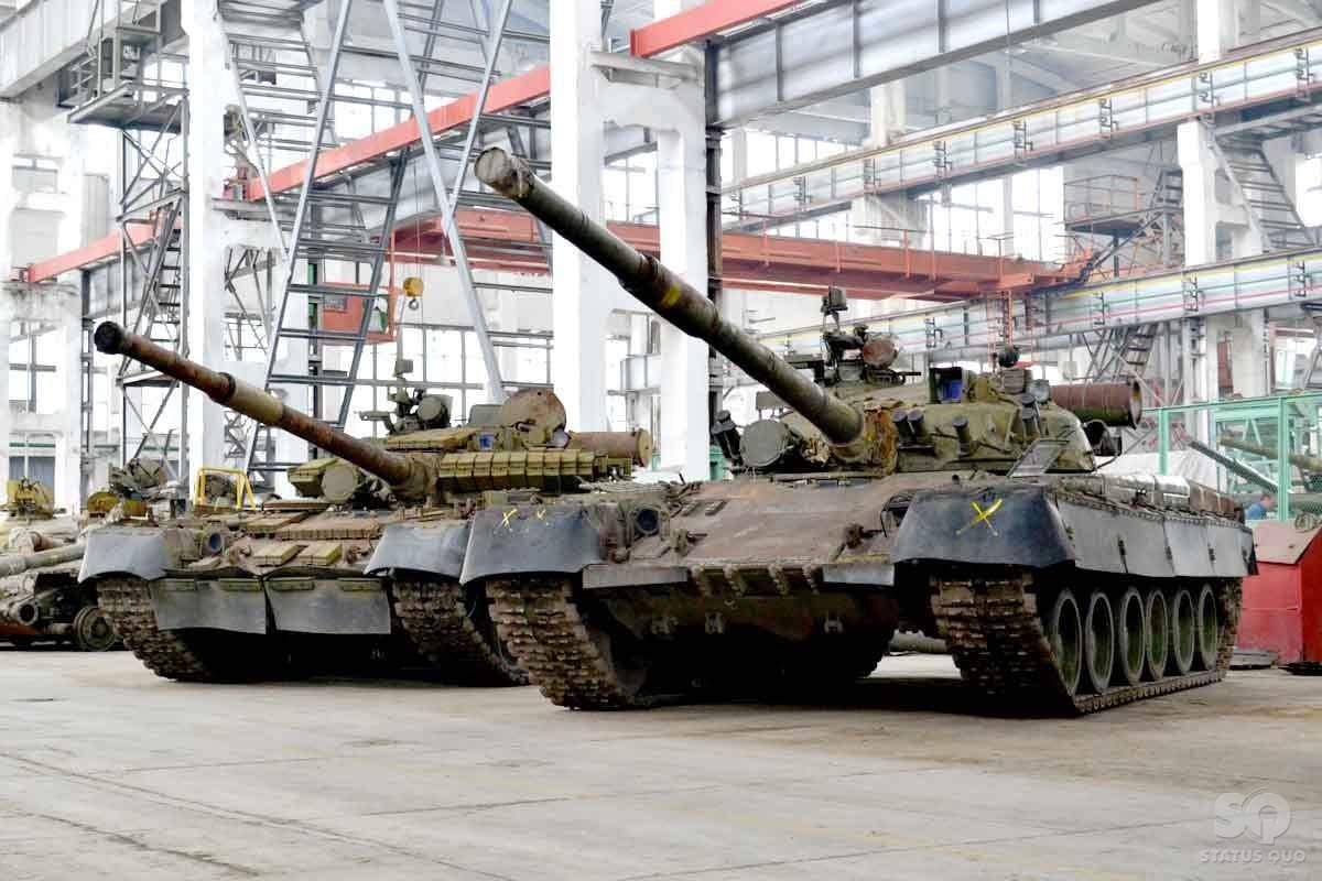 В Харькове увечили производство танков