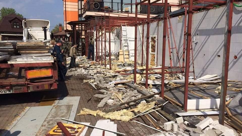 В столице без предупреждения уничтожили два десятка МАФов