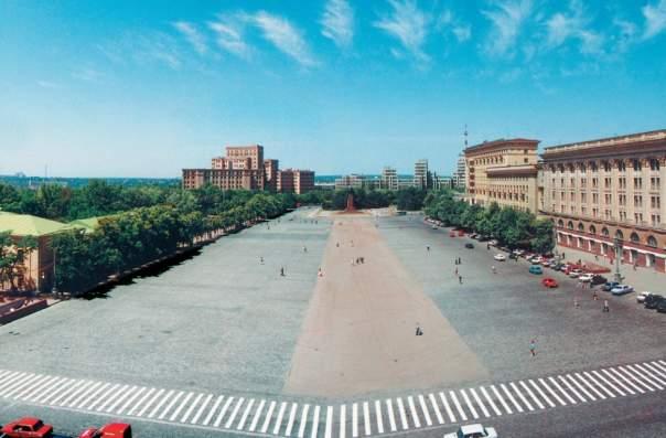 В Харькове площади Свободы вернут первоначальный вид