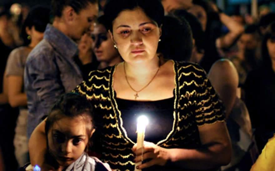 Грузины отметили годовщину войны 8.08.08