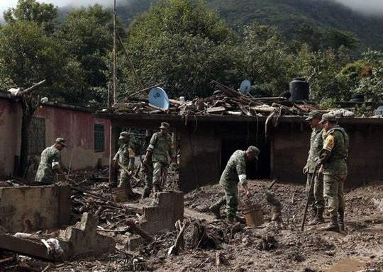 Число жертв шторма в Мексике возросло до 44 человек