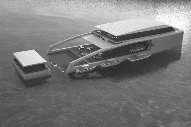 Pastrovich Studios разработала концепт супер-яхты с модульной конструкцией