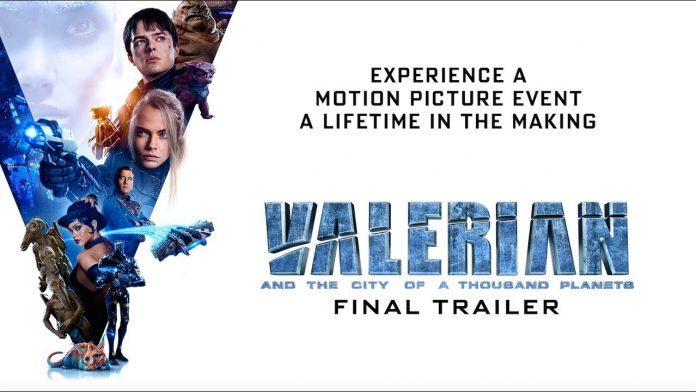 Опубликован финальный трейлер фильма «Валериан и город тысячи планет»