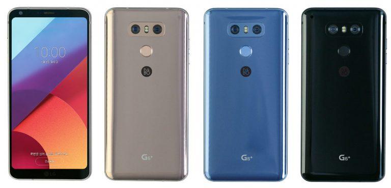 LG G6+ представлен официально