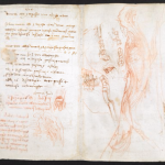 Оцифрован блокнот Леонардо да Винчи
