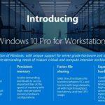 Представлена Windows 10 Pro for Workstations — высокопроизводительная ОС для мощных рабочих станций