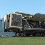 Британская компания создаёт модульные складные дома