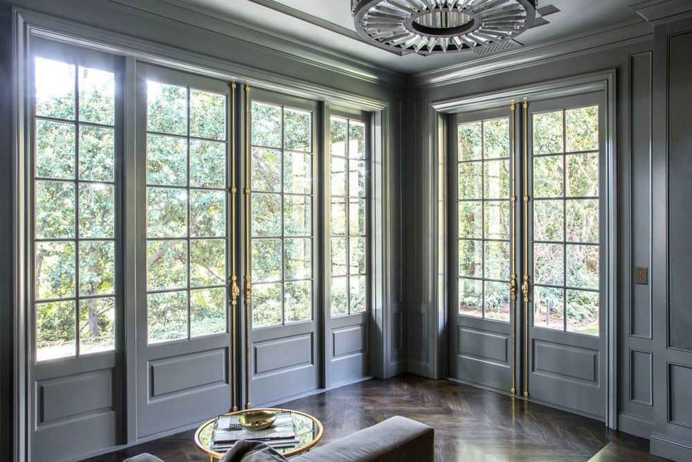 Французские окна «под ключ»