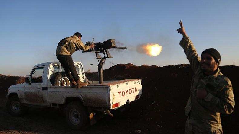 Кремль отреагировал на вторжение турок в Сирию
