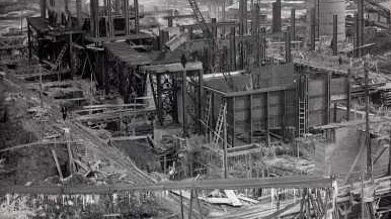 86 лет назад была запущена первая доменная печь Магнитогорского металлургического комбината имени Ленина