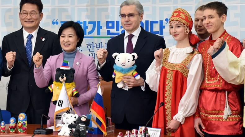 Южная Корея учредила движение болельщиков в поддержку атлетов РФ на Олимпиаде