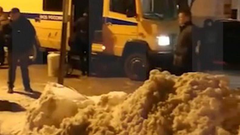 На крыше жилого дома в центре Москвы обнаружили взрывное устройство