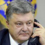 Порошенко рассказал, о чем говорил по телефону с Путиным