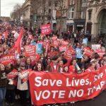В Ирландии прошел марш против абортов