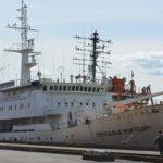 В.Петербурге загорелось судно